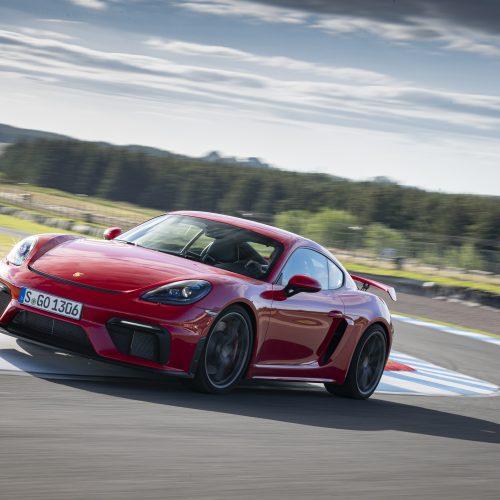 Öhlins TTX Pro - Advanced Trackday - Porsche Cayman GT4