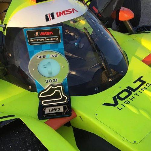 Volt Racing Wins Sebring 2021 IMSA LMP3 Race - Vehicle Dynamics by Ahlman Engineering
